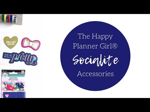 The Happy Planner Girl® SOCIALITE | Accessories