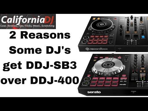 2 Reasons Why DJ's Get DDJ-SB3 over the DDJ-400