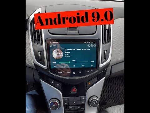 Магнитола Chevrolet Cruze на Android 9.0