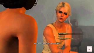 The Witcher 3 Fun in the Sauna with Ciri