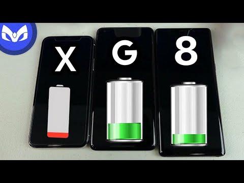 Download Youtube: iPhone X vs Note 8 REAL PRUEBA BATERIA Bonus Pixel XL 2