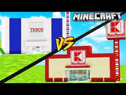 TESCO VS KAUFLAND W MINECRAFT | VITO vs GPLAY