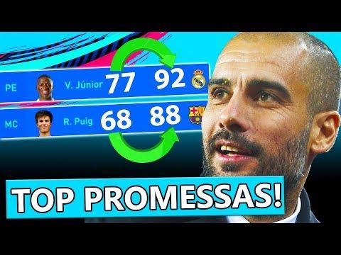 FIFA 19: TOP MAIORES PROMESSAS DO MODO CARREIRA