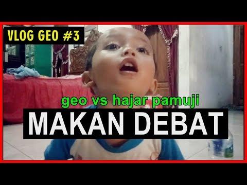 Geo Bocah 2 Tahun debat lawan Hajar Pamuji (VLOG#3 Geo & Hajar Pamuji)