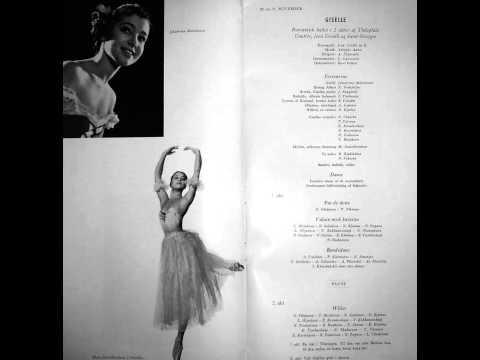 1960-xi-20 Bolshoi Ballet: Giselle, arranged by Susanna Zvjagina/Zvyagina reel 30.2 (AUDIO ONLY).