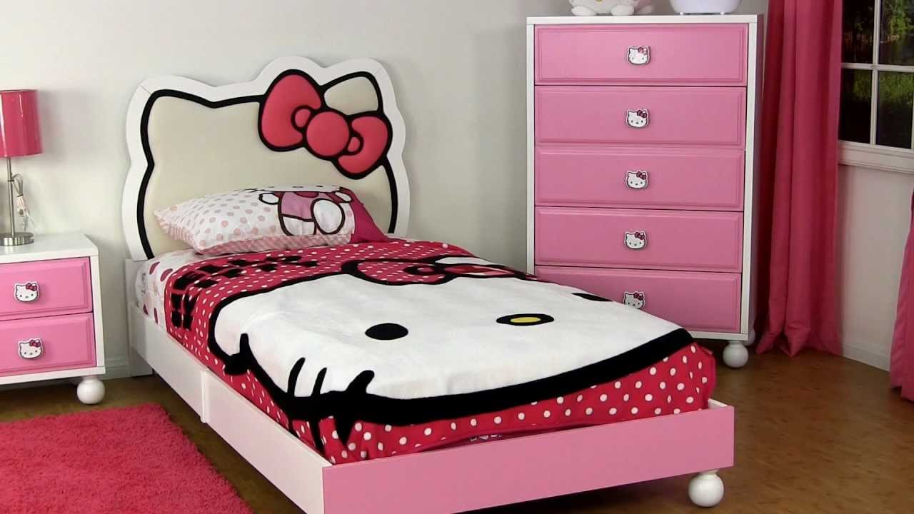 hello kitty bedroom furniture. hello kitty bedroom furniture youtube