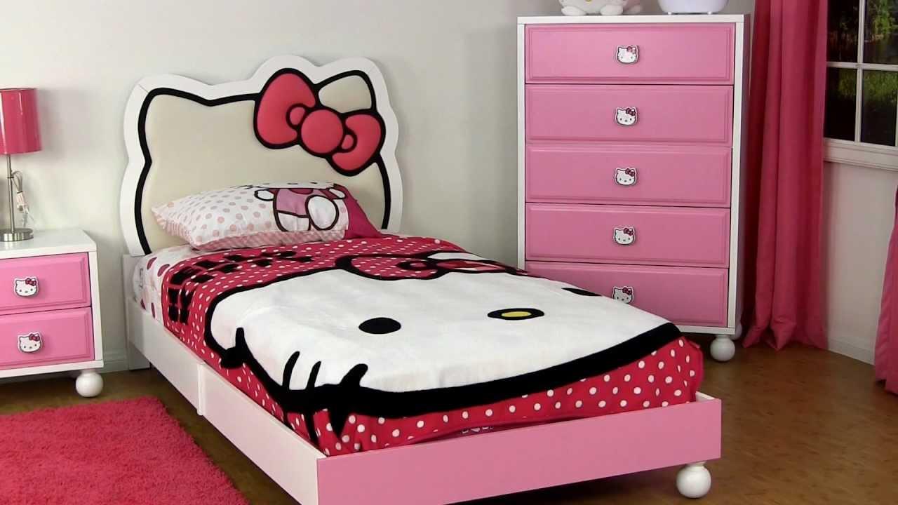 Dream Furniture Hello Kitty Bedroom Furniture Youtube