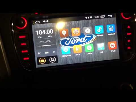Автомагнитола Android 8.1 Ford Mondeo MK4 2007-2012