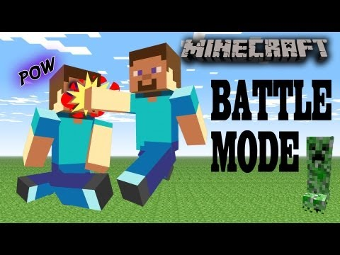 Minecraft Battle Mode / Race to the Top (Skylander Dad plays pt.2)