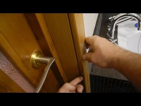 Дверные косяки и как их исправлять (щели)
