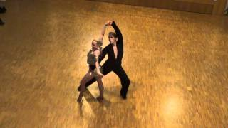 Katharina & Johannes Rumba @ German World of Dance 2012 Wettbewerb Social Dancing Competition