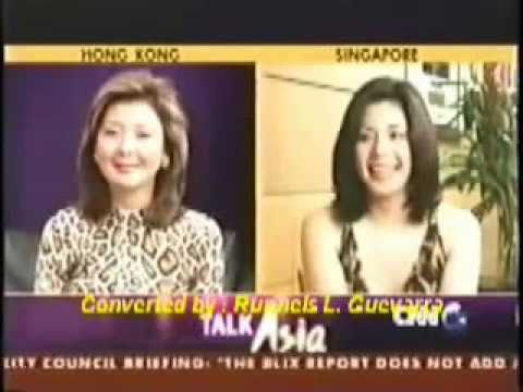 Regine Velasquez on CNN Talk Asia