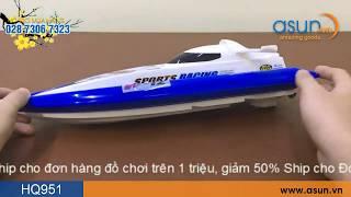 Tàu Cano Điều Khiển Từ Xa Huanqi 951 Sóng 2.4Ghz