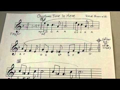 christmas time is here recorder solo - Christmas Time Is Here Song