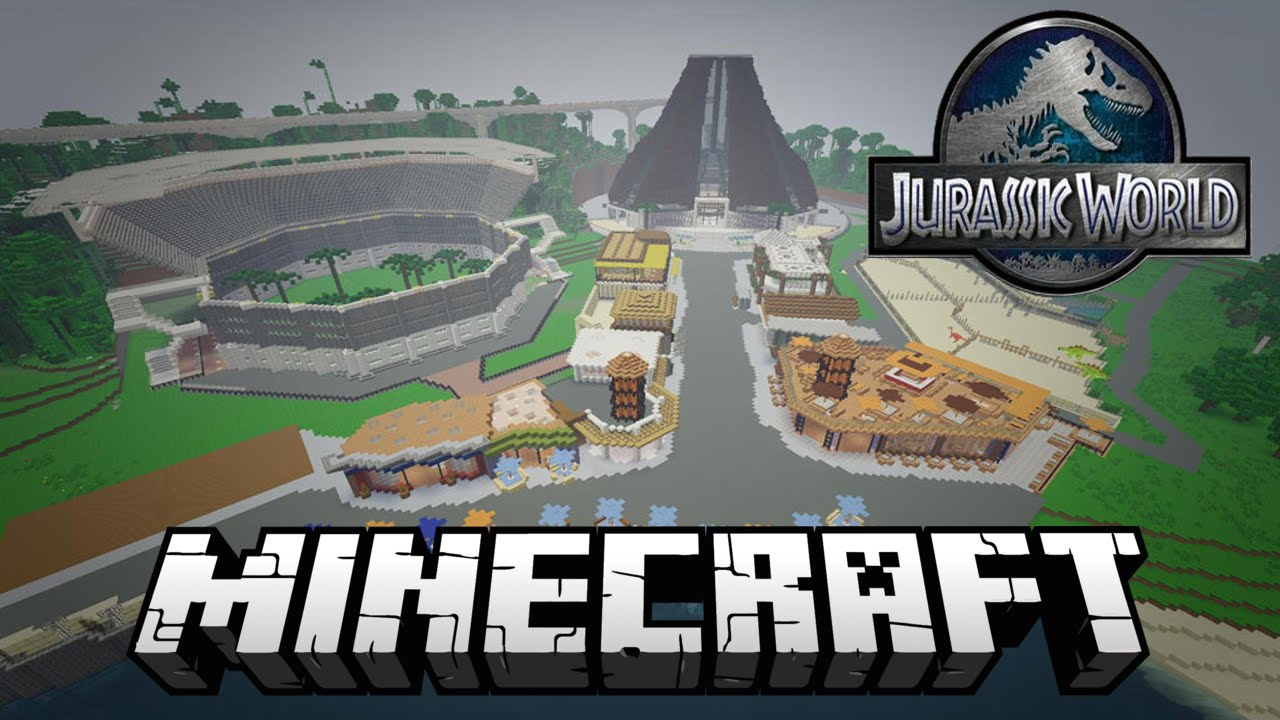 Jurassic world in minecraft jurassic world map 187 youtube jurassic world in minecraft jurassic world map 187 publicscrutiny Image collections