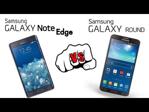Samsung Galaxy Note Edge vs Samsung Galaxy Round