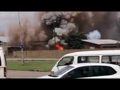 Emfuleni municipal substation exploded