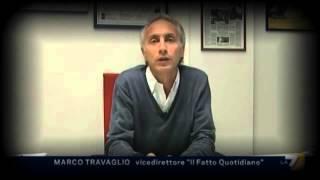 Caso Cancellieri - Ligresti : Marco Travaglio e nicola Porro
