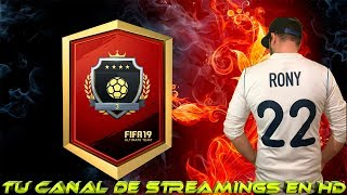 FIFA 19 | FUT CHAMPIONS DEL TIRON | HOY SI QUE SI VAMOS A POR ELITE | ROAD TO 9K | EN DIRECTO | LIVE