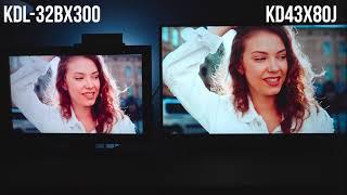 2021 Sony X80J 4K TV VS 2010 S…