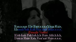 Tere Chehre Se Nazar Nahi | MALE KARAOKE (duet) | Female Voice by Sanya Shree ❤️