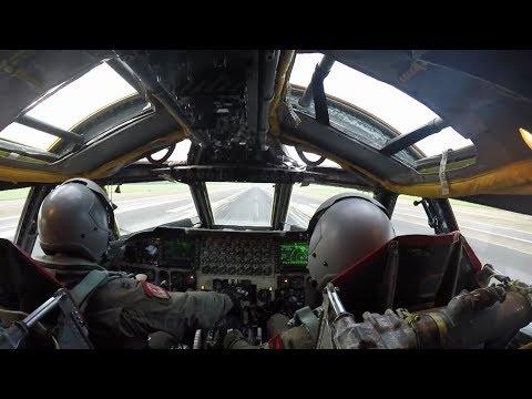 B-2 SPIRIT BOMBER IN ACTION