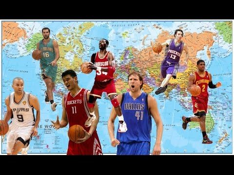 NBA Best Player Ever By Country