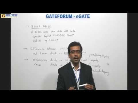 Zener Diode basic | Voltage Regulator | Electronics|GATE FORUM
