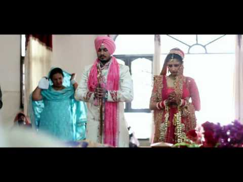 Delhi punjabi wedding video din shagna da