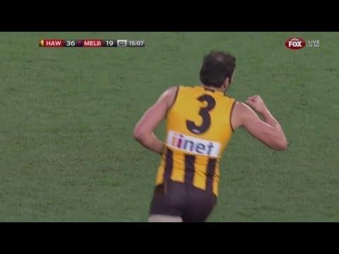 AFL 2014: Round 20 - Hawthorn highlights vs. Melbourne