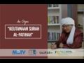 Aa Gym - Kajian MQ Pagi - Keutamaan Surah Al-Fatihah - 03 Februari 2017