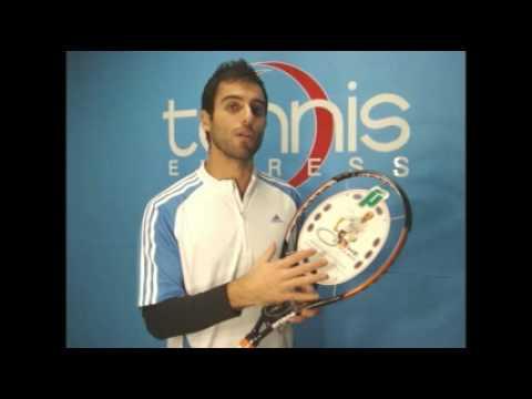 Prince Ozone Tour Racket Used By Nikolay Davydenko Tennis