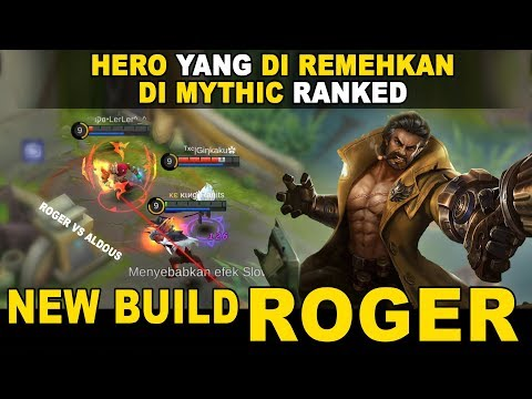 UPDATE New Build Roger Mythic Ranked  Mobile Legends Indonesia