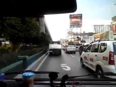 Drive mandaluyong city to quezon city - EDSA