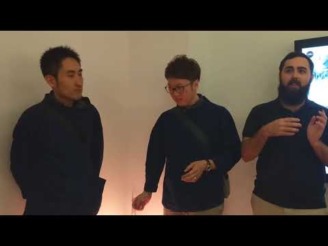 Motoyuki Noguchi & Toshimichi Minagawa Artist Talk at Galveston Arts Center November 2017