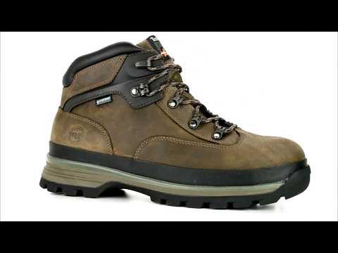 Men's Timberland Alloy Toe Waterproof Hiker Work Boot A1HC5 @ Steel-Toe-Shoes.com