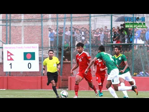 Nepal Vs Bangladesh U23 1 - 0 || Friendly Match Highlights 2017 ||