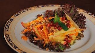Фруктовый салат с тыквой. Рецепт от шеф-повара