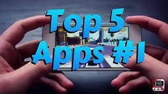 Top 5 iPhone 5 & iPod Touch 5g Full Screen Apps on iOS 6 EP.1