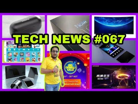 "tech-news-#067-|-xiaomi-mi-note-10-|-vivo-iqoo-neo-855-|-xiaomi-34""-gaming-monitor-|-galaxy-s10-🔥®️"