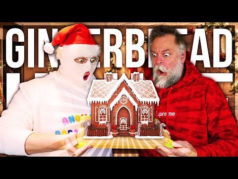 ANOMALY BUILDS A GINGERBREAD HOUSE!