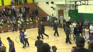 Highschool Basketball Fight