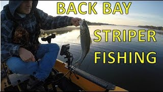 Back Bay Striper Fishing