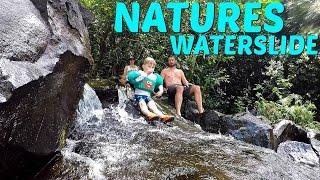 Natural Waterslide in Hawaii