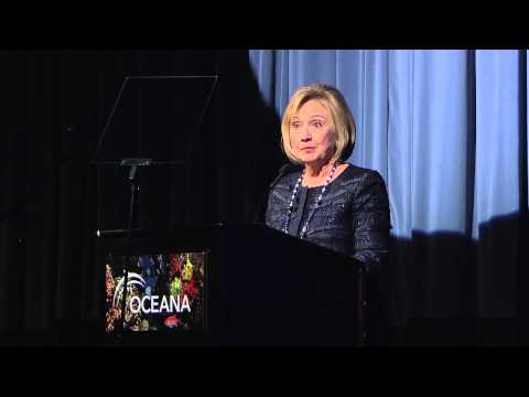 Hillary Clinton speaks about Oceana at the 2013 Partners Award Gala