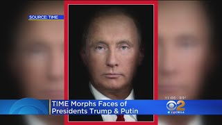 Donald Trump, Vladimir Putin's Faces Morphed In New Time Cover