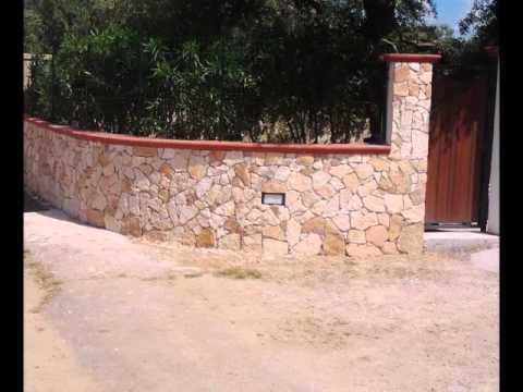 Rivestimenti in pietra trani salento youtube - Pietre da esterno per rivestimento ...