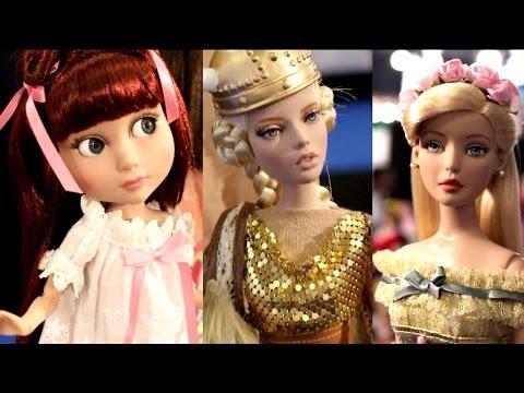 2016 New York Toy Fair Robert Tonner Dolls Booth Tour Doll Collection Deja Vu Agatha Primrose DC