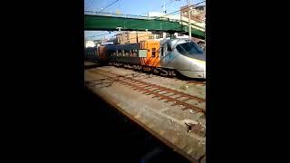 サンライズ瀬戸(285系電車I4編成) 高松発車