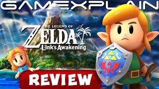 The Legend of Zelda: Link's Awakening REVIEW (Nintendo Switch) (Video Game Video Review)